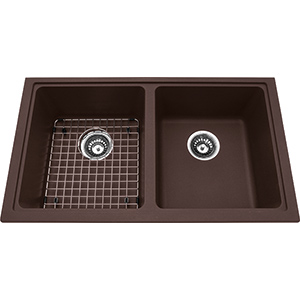 Kindred Sanitized Granite | KGD1U/8ES | Granite Espresso | Sinks
