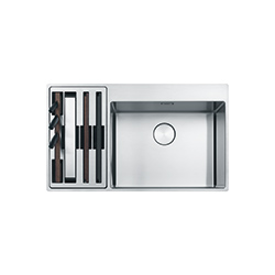 Box Center | BWX 220-54-27 TL WCL | Stainless Steel | Sinks