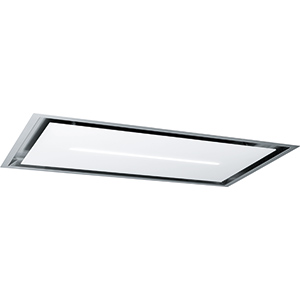 HIGH CONFIDENCE PLUS | HIGH CONFIDENCE PLUS 1200 VERRE BL | Inox / verre blanc | Hottes