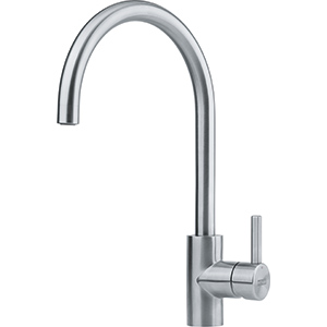 Eos Neo | Swivel Spout | Stainless Steel | Taps