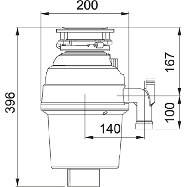 Waste disposers | FWDLD550-A02