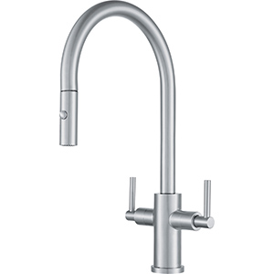 Cube | Pull down spray | Stainless Steel | Faucets