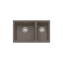 Kubus | KBG 120 | Fragranit + Taupe | Eviers