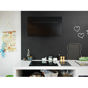 Smart Flat | FSFL 905 BK | Glass black | Hoods
