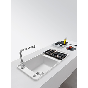 Style | SYG 611 | Fragranite Alabaster White | Sinks