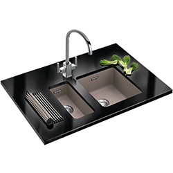 Kubus | KBG 110 34 | Fragranite Oyster | Sinks
