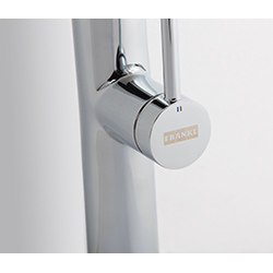 Pescara XL Slide-In | pull-out spray | Chrom | Baterie