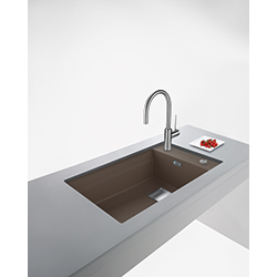 Kubus 2 | KNG 110 62 | Fragranite Copper Grey | Sinks