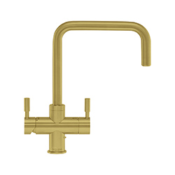 Omni Contemporary 4-in-1 Tap | Omni | Modern Brass | Instant boiling water taps