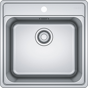 Bell | BCX 610-51 | Stainless Steel | Sinks