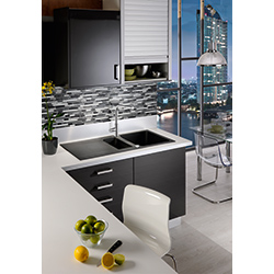 Orion | OID 651 | Tectonite Carbon Black | Sinks