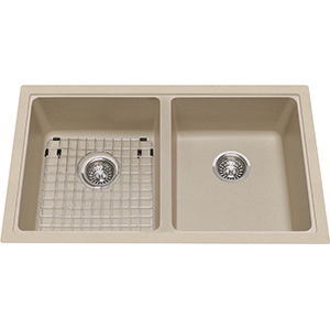 Kindred Sanitized Granite | KGD2U-9CH | Granite Champagne | Sinks