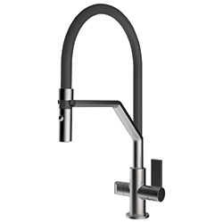 Neptune | Swivel Spout | Nickel Optics | Hanat