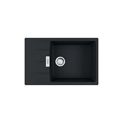 Centro | CNG 611-78 XL | Fragranite Matt Black | Sinks