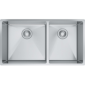 Cube | CUX160-32-CA | Stainless Steel | Sinks