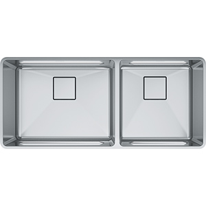Pescara | PTX160-40-CA | Stainless Steel | Sinks